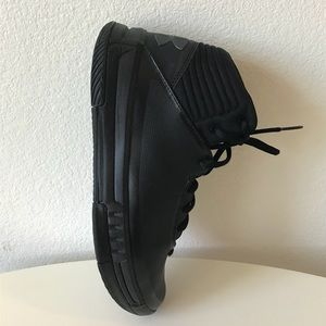 Under Armour Shoes - UNDER ARMOUR  Basketball high-tops sneakers Black